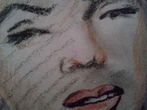 Marilyn Monroe par perlefr